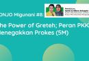 SONJO Migunani #8: The Power of Greteh; Peran PKK Menegakkan Prokes (5M)
